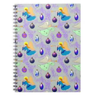 Angels in Silver – Ornaments & Trumpets Note Book