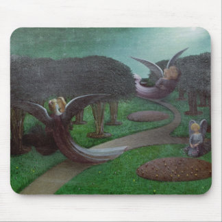 Angels in the Night, 1896 Mousepad