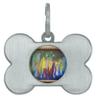 Angels in the Outfield Pet Tags