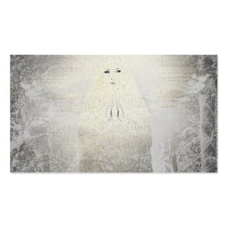 Angels Inpirational Religious Lady  Business Card