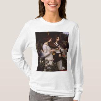 Angels John William Waterhouse Pre-Raphaelite Art T-Shirt