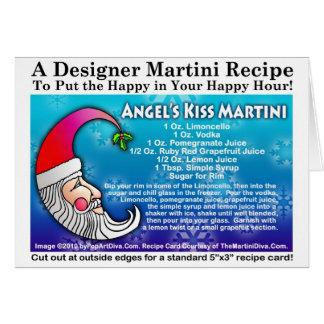 ANGEL'S KISS CHRISTMAS COCKTAIL RECIPE CARD