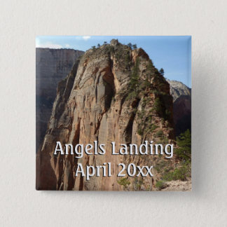 Angels Landing at Zion National Park Button