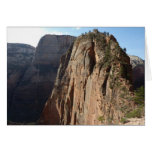 Angels Landing at Zion National Park Card