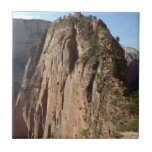 Angels Landing at Zion National Park Ceramic Tile