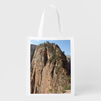 Angels Landing at Zion National Park Grocery Bag
