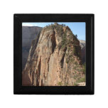 Angels Landing at Zion National Park Jewelry Box