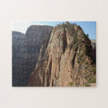 Angels Landing at Zion National Park Jigsaw Puzzle