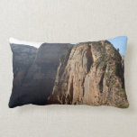 Angels Landing at Zion National Park Lumbar Pillow