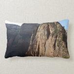 Angels Landing at Zion National Park Lumbar Pillow