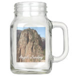 Angels Landing at Zion National Park Mason Jar