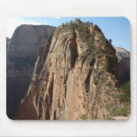 Angels Landing at Zion National Park Mouse Pad