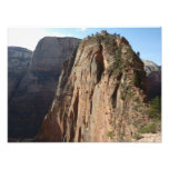 Angels Landing at Zion National Park Photo Print