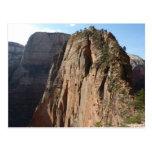 Angels Landing at Zion National Park Postcard