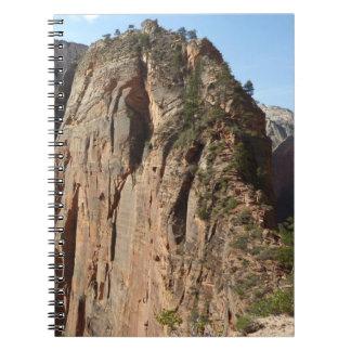 Angels Landing at Zion National Park Spiral Notebook