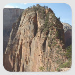 Angels Landing at Zion National Park Square Sticker