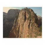 Angels Landing at Zion National Park Wood Wall Art