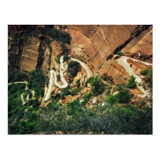 Angels Landing Trail postcard