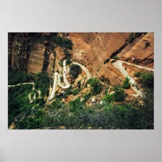 Angels Landing Trail poster