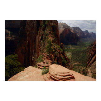 Angels Landing Trail poster
