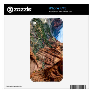 Angel's Landing Trail Zion National Park - Utah Decals For iPhone 4S