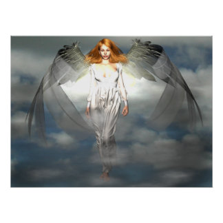Angels Light Poster