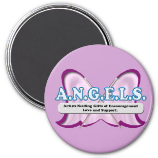 ANGELS logo donated by Amy Sagan Fridge Magnets