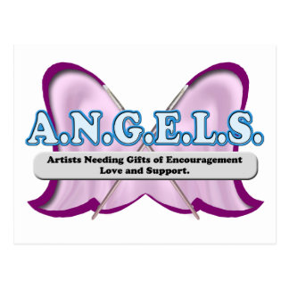 ANGELS logo donated by Amy Sagan Postcard