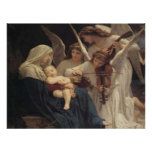 Angels Lullaby poster print