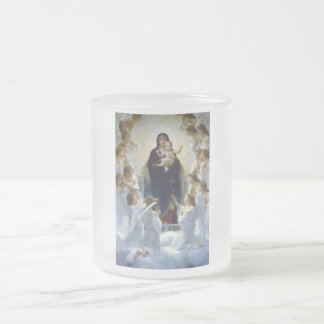 Angels madona baby christian religion clouds mug