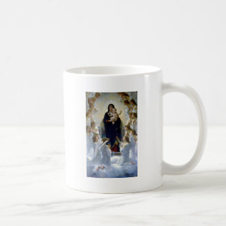 Angels madona baby christian religion clouds mugs