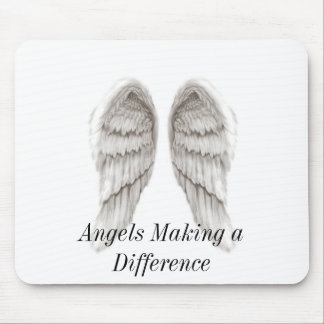 Angels Making a Difference Mouse Pad