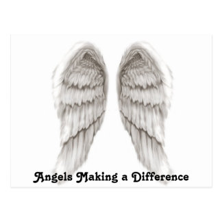 Angels Making a Difference Postcard