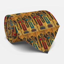 Angels Michael And Gabriel Neck Tie