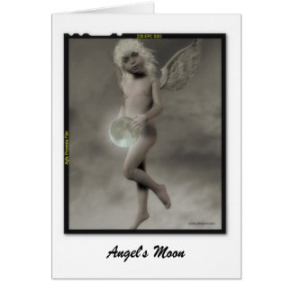 Angel's Moon Card