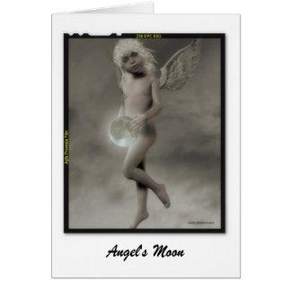 Angel's Moon Card