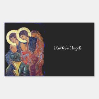 Angels of Annunciation Rectangular Sticker
