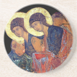 Angels of Annunciation Sandstone Coaster