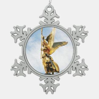 Angels of Berlin Snowflake Snowflake Pewter Christmas Ornament