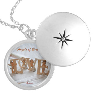 Angels of Berlin — Wings of Desire Round Locket Necklace