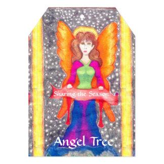 Angels of Earth Yule Solstice Christmas Angel Tree Card