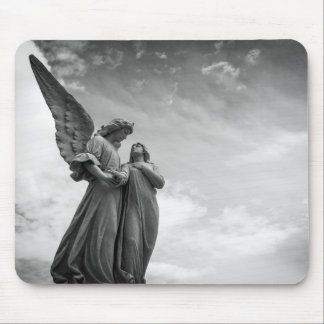 Angels of love mouse pad