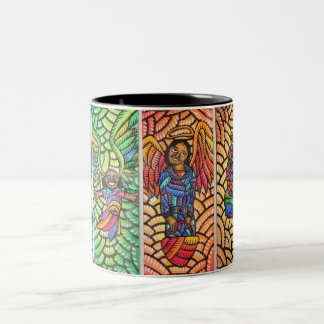 Angels of San Fransisco Two-Tone Coffee Mug