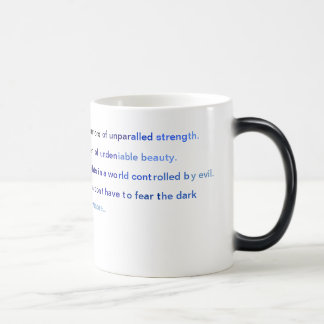 Angels of the Dark warriors. Magic Mug
