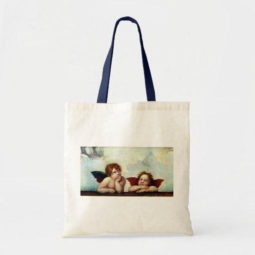 Angels of the Sistene Madonna Budget Tote Bag