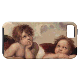 Angels of the Sistine Madonna by Raphael iPhone SE/5/5s Case