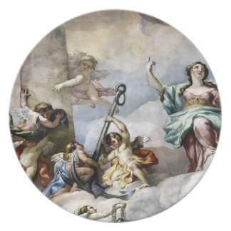 Angels of Venice Melamine Plate