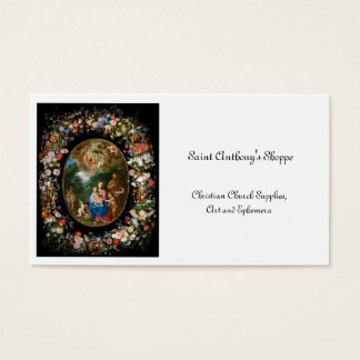 Angels Offering Gifts Business Card