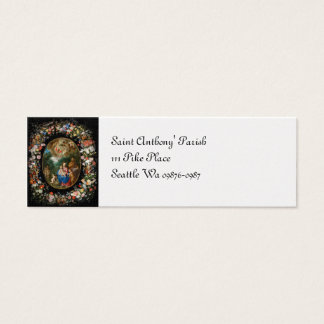 Angels Offering Gifts Mini Business Card