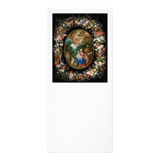 Angels Offering Gifts Rack Card